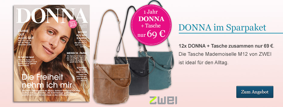 DONNA Sparpaket Tasche Mademoiselle M12