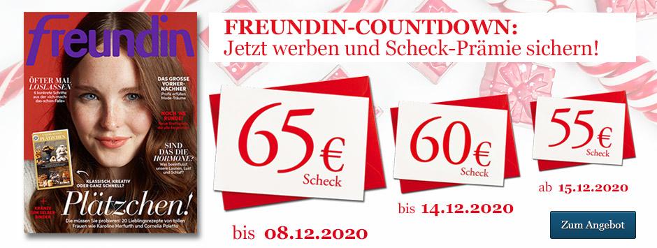 freundin LWL Winter Countdown 65€ Scheck