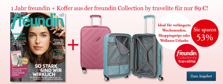 freundin Sparpaket Trolley by travelite
