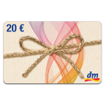 dm-Gutschein 20 €
