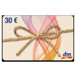 30 € dm-Gutschein