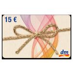 15 € dm-Gutschein