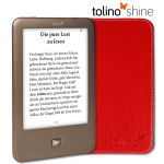 tolino shine eBook Reader inkl. Schutzhülle