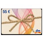 55 € dm-Gutschein