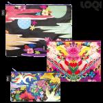 LOQI 3er-Set Zip Pockets