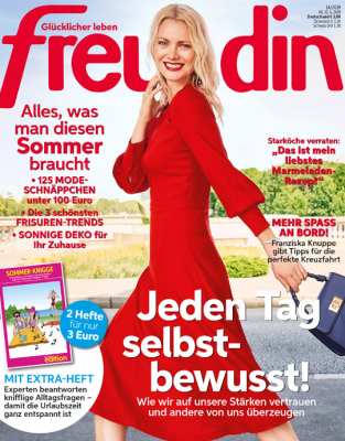 freundin - aktuelle Ausgabe 14/2019