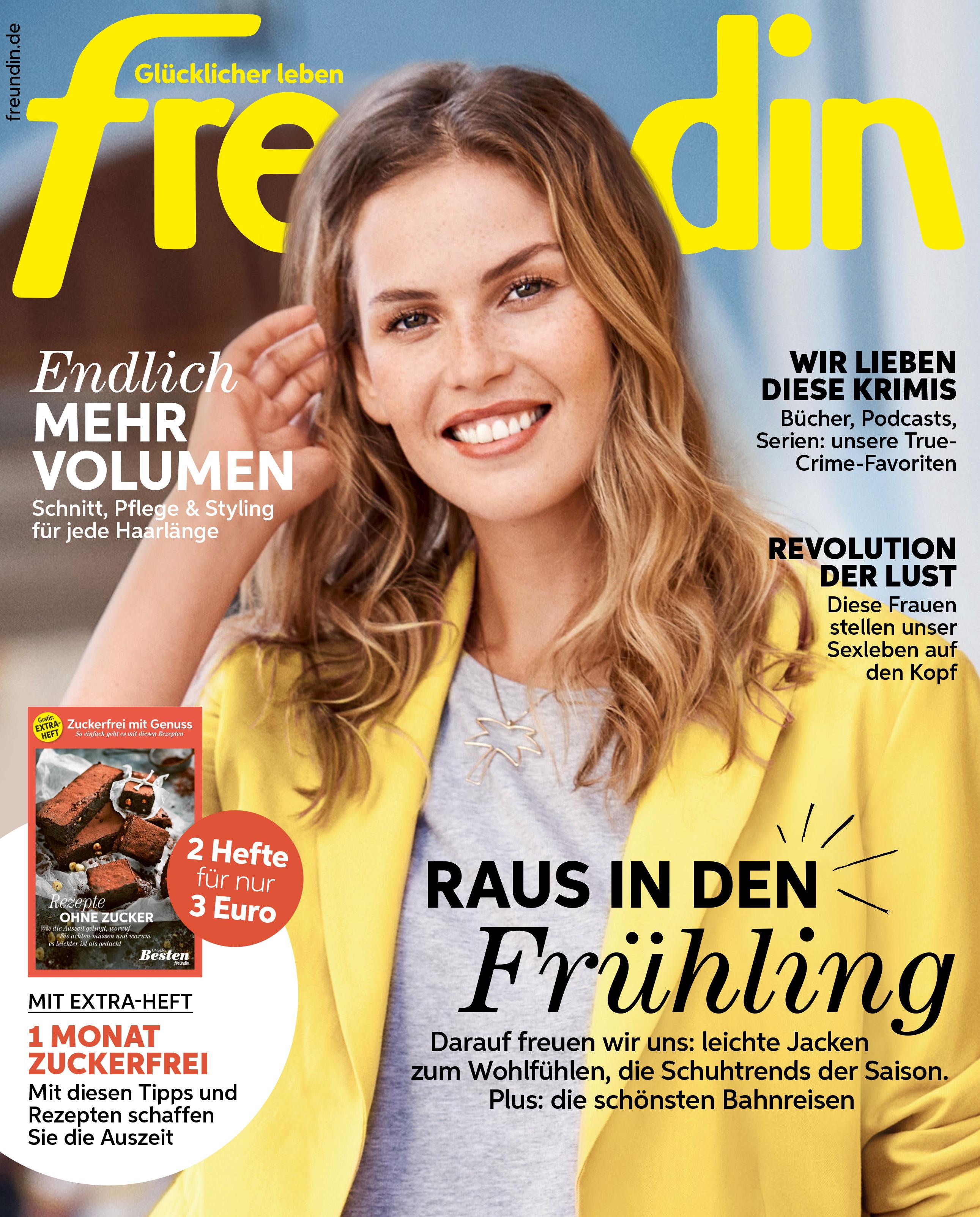 freundin - aktuelle Ausgabe 03/2020