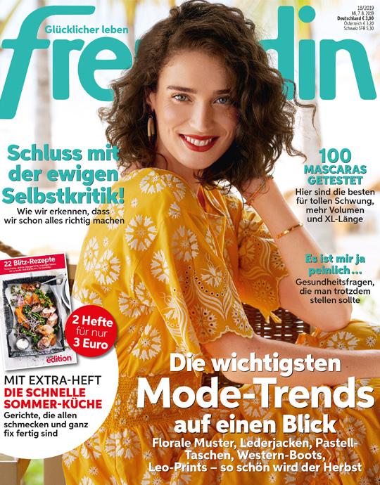 freundin - aktuelle Ausgabe 17/2019