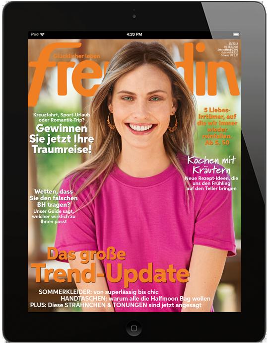 freundin digital - aktuelle Ausgabe 08/2018