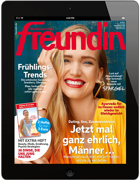 freundin digital - aktuelle Ausgabe10/2019