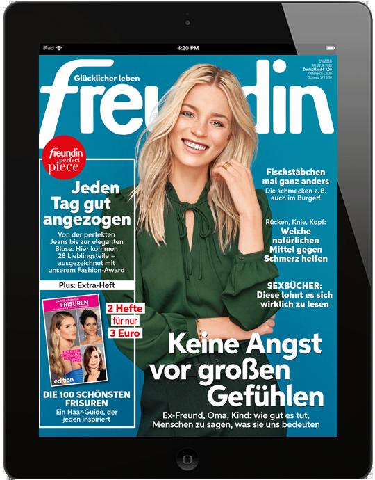 freundin digital - aktuelle Ausgabe 19/2018