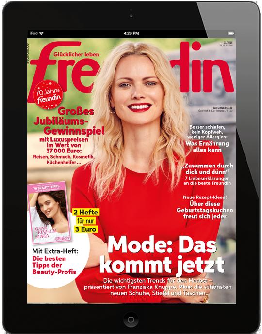 freundin digital - aktuelle Ausgabe 21/2018
