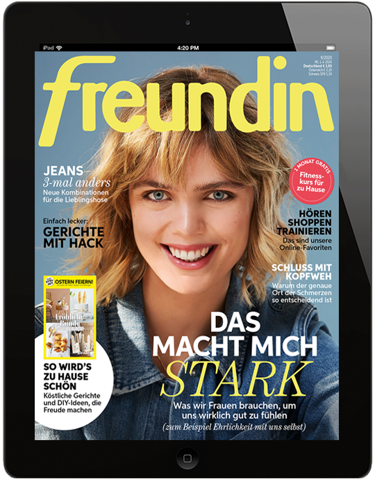 freundin digital - aktuelle Ausgabe 01/2020